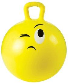 TOYSMITH: Emoji Hoppy Ball 18In W/Pump