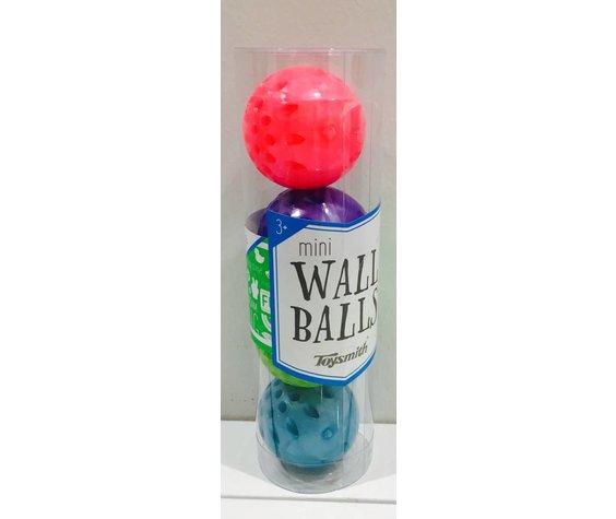 TOYSMITH: Mini Wall Ball 4Pc