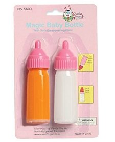 CASTLE TOYS:  MILK & JUICE BOTTLE