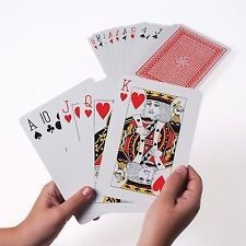 5X7IN. JUMBO PLAYING CARDS