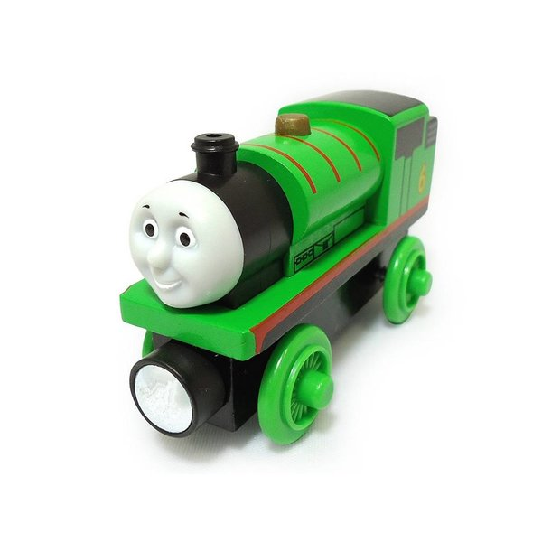FISHER-PRICE FRIENDS PLAY THOMAS WOODEN RAILWAY:  PERCY