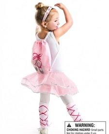 LITTLE ADVENTURES: Drawstring Backpack Ballerina Gift Set