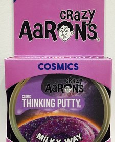 "CRAZY AARON'S PUTTY:  MILKY WAY 4"" TIN"