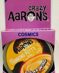 "CRAZY AARON'S PUTTY: SOLAR WIND SUPER GLOWING 4"" TIN"