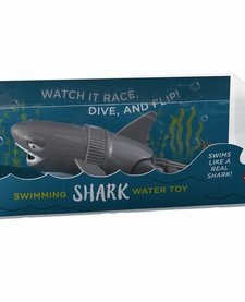TWOS COMPANY:  SWIMMING SHARK WATER TOY