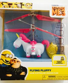BLUE SKY WIRELESS: FLYING FLUFFY UNICORN FLIER - DESPICABLE ME3