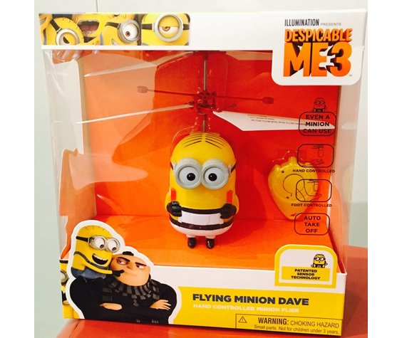 BLUE SKY WIRELESS BLUE SKY WIRELESS: FLYING DAVE MINION FLIER - DESPICABLE ME3
