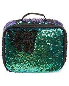 FASHION ANGELS:  S. LAB MAGIC SEQUIN LUNCH TOTE - MERMAID