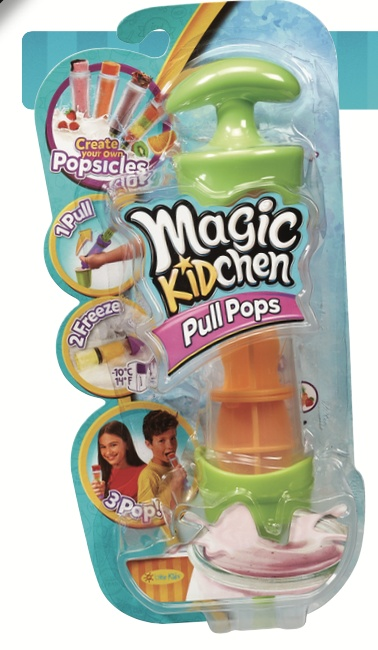 LITTLE KIDS:  MAGIC KITCHEN PULL POPS MAKER
