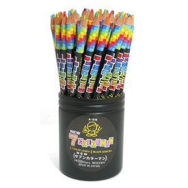 7 COLOR MAN PENCIL