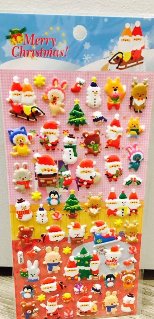 Christmas Stickers (ASST)
