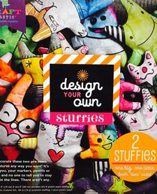 ANN WILLIAMS:  Craft-tastic Design-Your-Own Stuffies