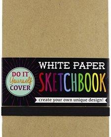 OOLY:  DIY WHITE PAPER SKETCHBOOK