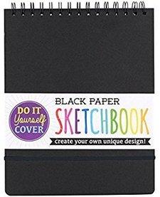 OOLY:  DIY BLACK PAPER SKETCHBOOK