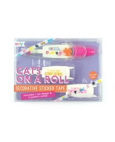 OOLY:  CATS ON A ROLL STICKER TAPE