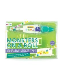 OOLY:  MONSTERS ON A ROLL STICKER TAPE