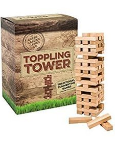 PROFESSOR PUZZLE:  TOPPLING TOWER