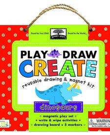 GREEN START PLAY, DRAW, CREATE: DINOSAURS