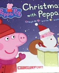 CHRISTMAS WITH PEPPA BOOK
