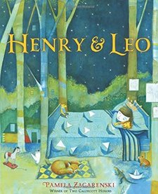 HENRY AND LEO HARDCOVER BOOK