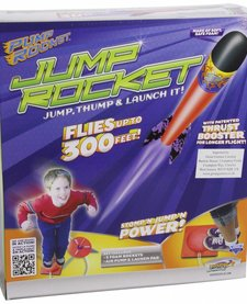 GEOSPACE:  JUMP ROCKET LAUNCHER AND 3 ROCKET SET