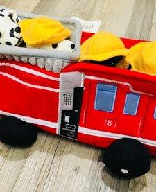 """12"""" FIRE TRUCK HOUSE"""