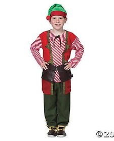 TOY MAKER ELF COSTUME (CHILD)