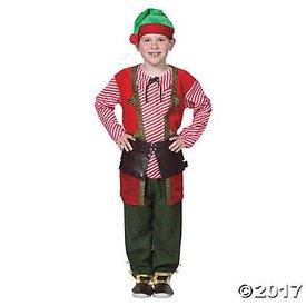 FUN EXPRESS TOY MAKER ELF COSTUME (CHILD)