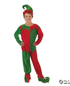 CHILD ELF COSTUME (SM/MED)