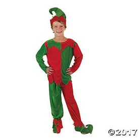FUN EXPRESS CHILD ELF COSTUME (SM/MED)