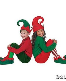 ELF SHOES AND HAT