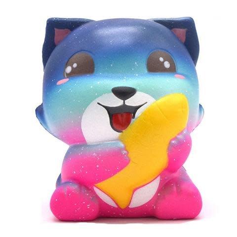 MY KAWAII SQUISHIES MY KAWAII SQUISHIES:  FOX WITH FISH