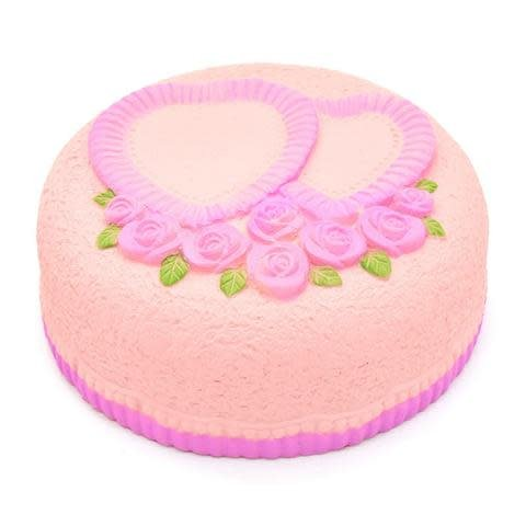 MY KAWAII SQUISHIES MY KAWAII SQUISHIES:  LOVE CAKE (ASST PINK OR WHITE)