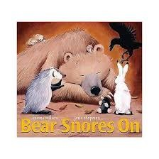 Little Simon BEAR SNORES ON