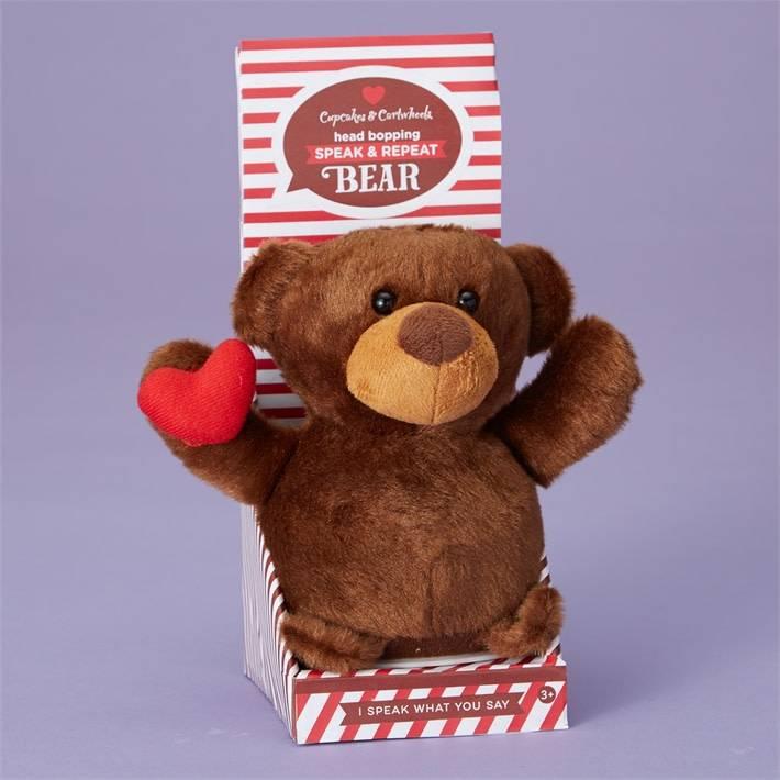 CUPCAKES AND CARTWHEELS:  SPEAK AND REPEAT BEAR