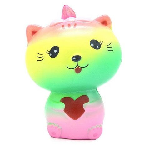 MY KAWAII SQUISHIES: RAINBOW CAT