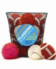 CUPCAKES AND CARTWHEELS:  FLASHING SPORT BALLS (ASST)
