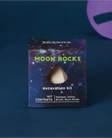 CUPCAKES AND CARTWHEELS:  MOON ROCK EXCAVATION KIT