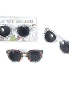 CUPCAKES AND CARTWHEELS:  COLOR THIS SUNGLASSES