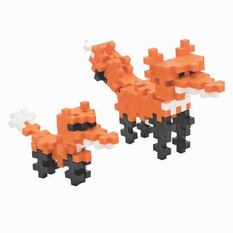 PLUS PLUS: MINI MAKER TUBE (70 PC) RED FOX