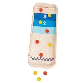 PLAN TOYS:  2-IN-1 SHUFFLEBOARD GAME