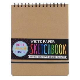 OOLY OOLY:  WHITE PAPER SKETCHBOOK