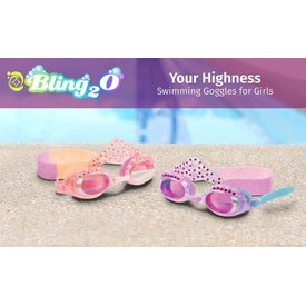 BLING 2O/PARR MARR BLING 2 O GOGGLES: YOUR HIGHNESS  (ASST COLOR)