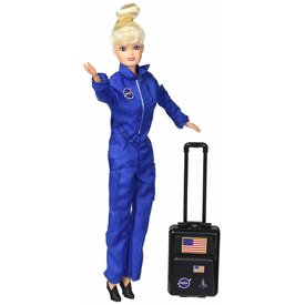 DARON Astronaut Doll In Blue Suit