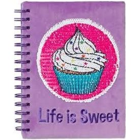 3C4G 3C4G:  CUPCAKE MAGIC SEQUIN JOURNAL