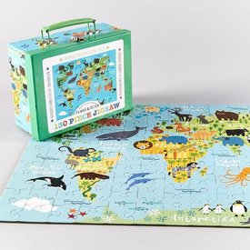 FLOSS AND ROCK FLOSS AND ROCK:   130 PC JIGSAW - WORLD
