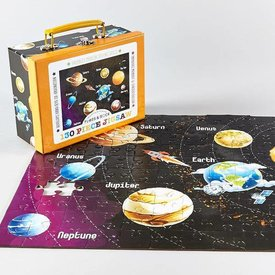FLOSS AND ROCK FLOSS AND ROCK:   130 PC JIGSAW - UNIVERSE