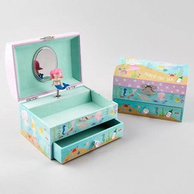 FLOSS AND ROCK FLOSS AND ROCK:  JEWELRY BOX - MERMAID