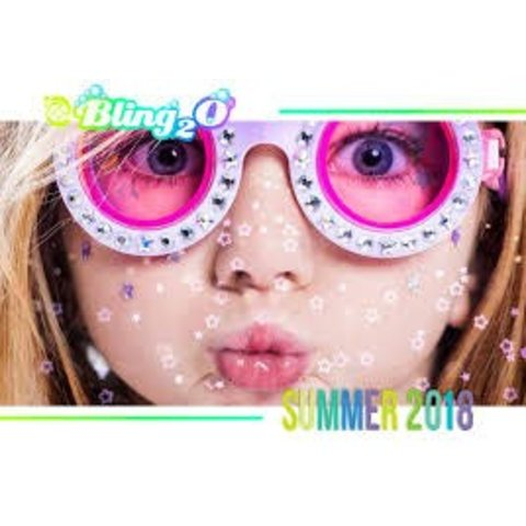BLING2O:  THE CAT'S MEOW GOGGLES (PURPLE OR PINK ASS)