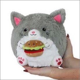 """SQUISHABLE:  Mini Kitty w/ Burger (7"""")"""